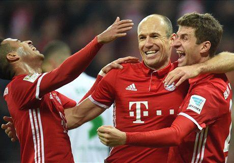 Bantai Wolfsburg, Bayern Kembali Ke Puncak