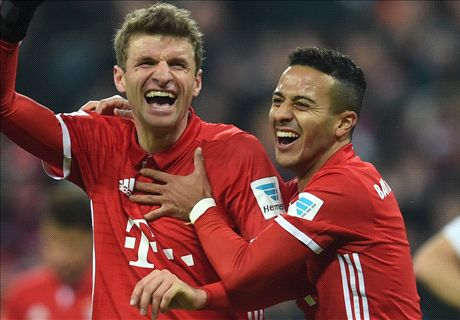 Bayern hit stride in Wolfsburg mauling
