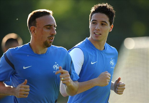 Ribery ruled out but France still have no Nasri regrets