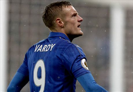 Vardy hat-trick stuns Man City