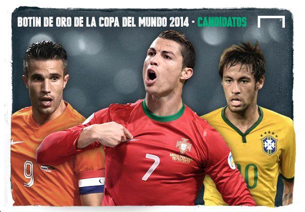 Los candidatos al Botín de Oro del Mundial 2014