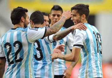 Argentina 2-0 Slovenia: Messi strikes