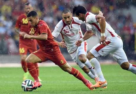 Amistoso 2014: Bélgica 1-0 Túnez
