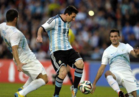 Amistoso 2014: Argentina 2-0 Eslovenia