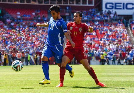 Player Ratings: El Salvador 0-2 Spain