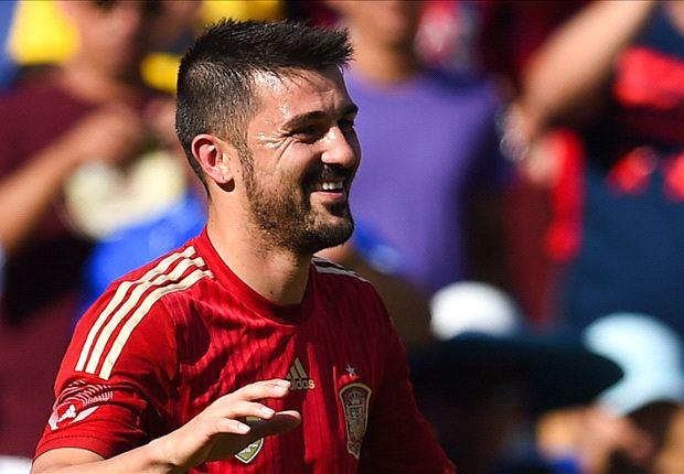 David Villa se ve con opciones de hacer un buen Mundial