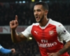 Walcott goal earns reward from wife