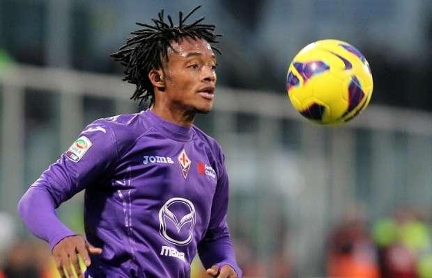 Cuadrado juega en la Fiorentina desde 2012