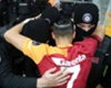 Galatasaray ace celebrates goal with policemen to honour fallen officers in Istanbul bombings