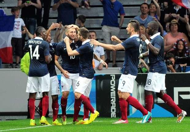 Laporan Pertandingan: Prancis 8-0 Jamaika
