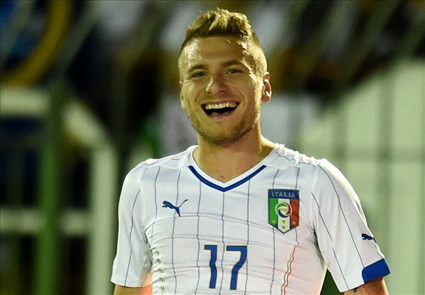 Italy striker Immobile keen to start against England