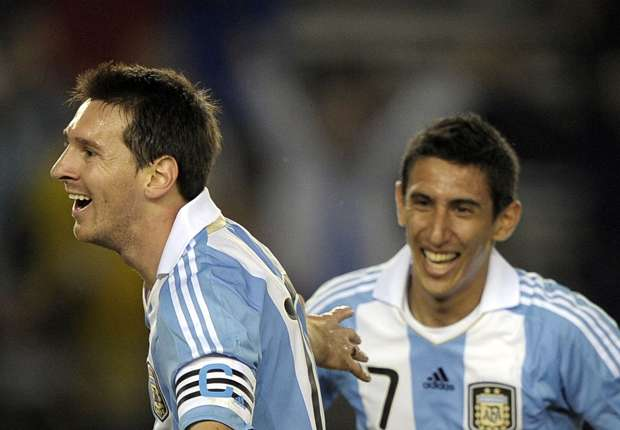 Argentina attackers need to improve to help Messi, says Di Maria