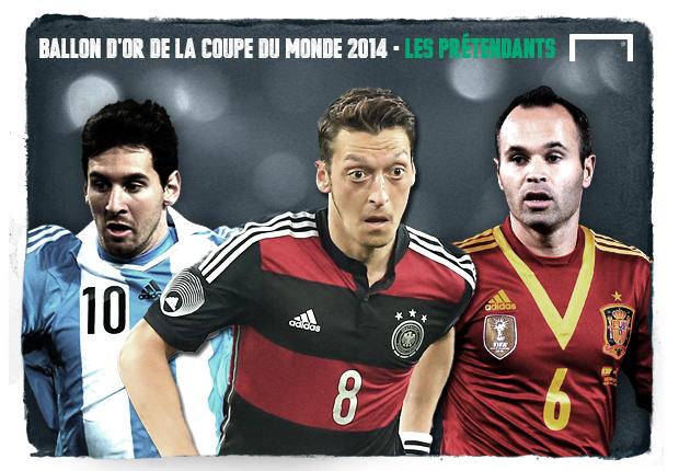 Les candidats pour le ballon d 39 or de la coupe du monde 2014 ballon d 39 or de la coupe du monde - Ballon de la coupe du monde 2014 ...