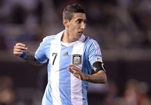 Argentina are playing well, insists Di Maria