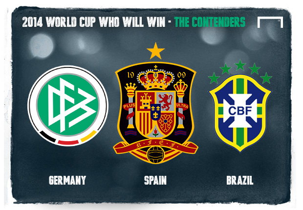 2014 World Cup - Who Will Win? - The Contenders
