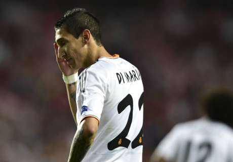 'Di Maria still a Real Madrid player'