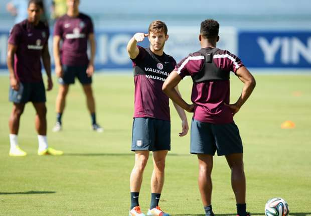 Big stage excites England's Lallana