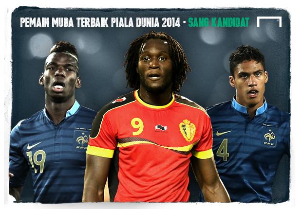 Pemain Muda Terbaik Piala Dunia 2014 - Inilah Kandidatnya