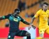 Atusaye Nyondo of Bloemfontein Celtic & Daniel Cardoso of Kaizer Chiefs