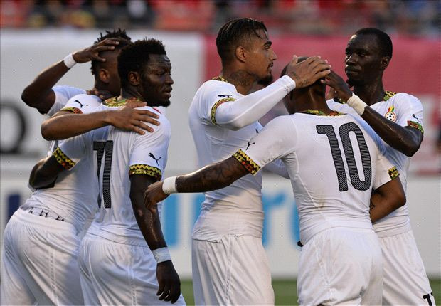 Ghana 4-0 South Korea: Ayew hits hat-trick as Black stars run riot