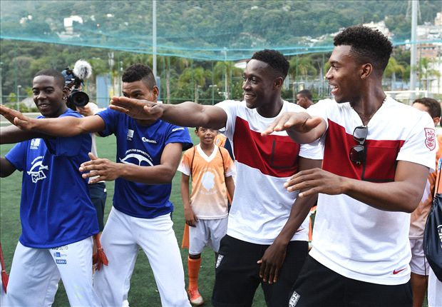 Welbeck and Sturridge enjoy capoeira dance-off ahead of Italy clash
