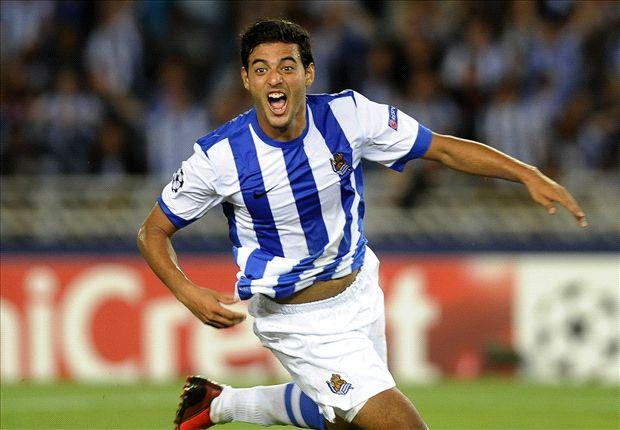 Vela juega en la Real Sociedad desde la temporada 2011-2012