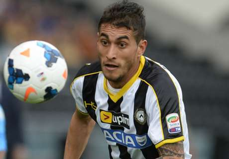 Di Natale: Pereyra will shine at Juve