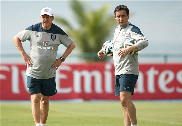 England coach Neville slams 'masterplan reveal' claims