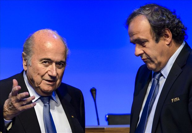 Blatter is finished, says Platini
