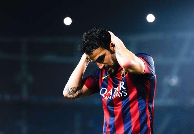 Barcelona: Fabregas performances got worse each season