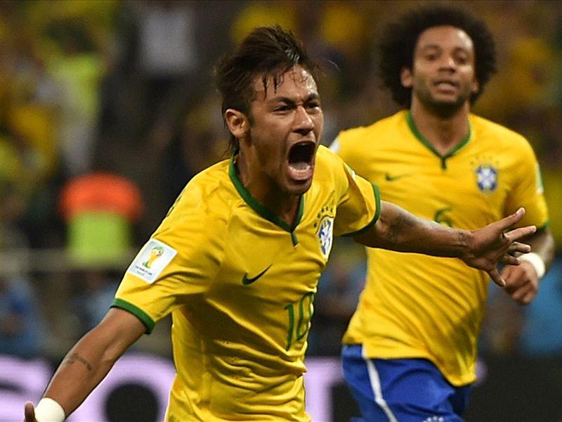 Neymar delighted as 'strange' goals get Brazil off to winning start