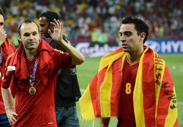 Van Gaal: I made Xavi & Iniesta
