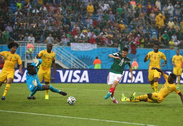 México 1-0 Camerún: Oribe Peralta hizo justicia