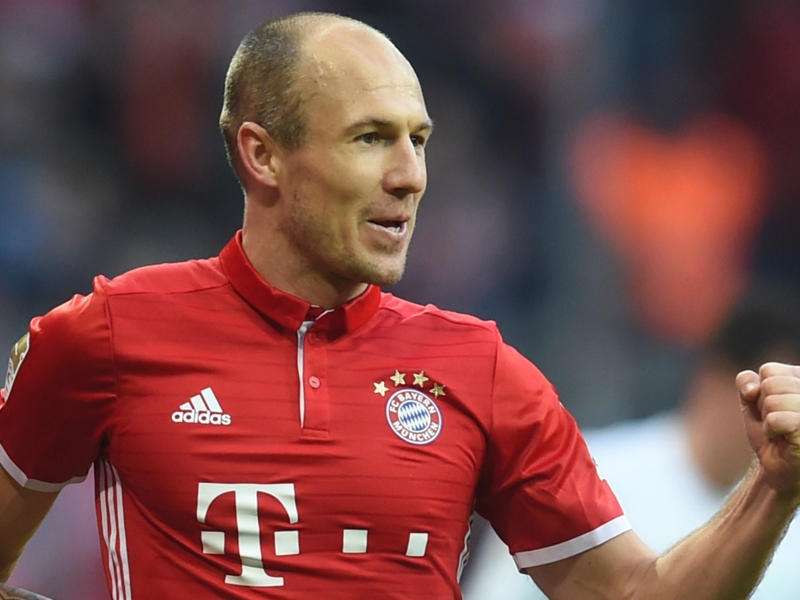 Robben & Lewandowski lead Bundesliga Team of the Season