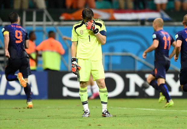 Casillas: Blame me for Netherlands thrashing