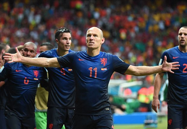 Robben: Spain thrashing is 'not revenge' for 2010 final