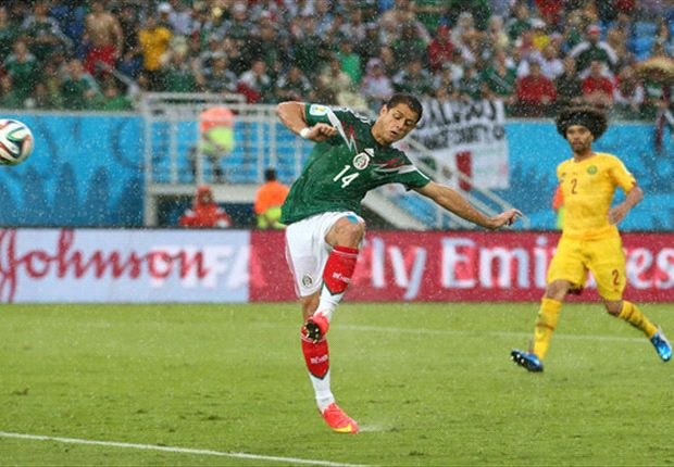 Chicharito relaxed after Mexico's 1-0 win