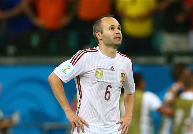Iniesta: Spain face two finals to stay in World Cup