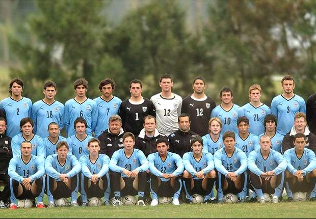 El equipo uruguayo