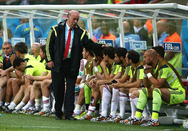 Del Bosque: 'No need for a revolution'