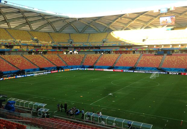 England & Italy rubbish pitch fears ahead of Manaus' World Cup clash