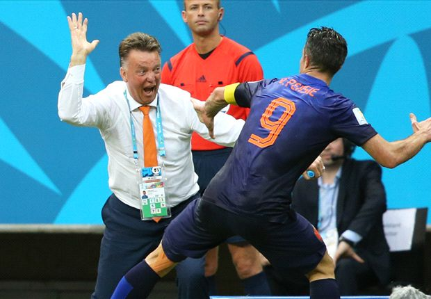 Van Gaal: We're not getting carried away by Spain rout