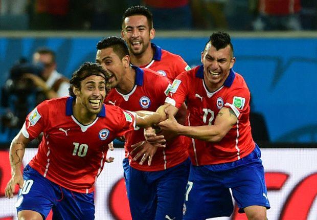 Valdivia marcó el segundo tanto