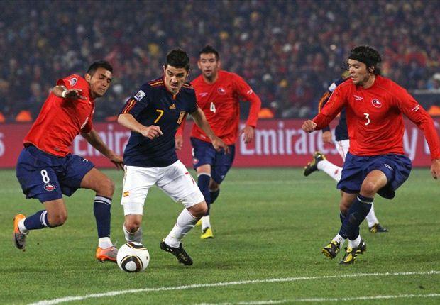 España, Chile y una 'final' en el Maracaná