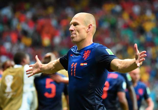 Kuyt: Robben is the best player at the World Cup