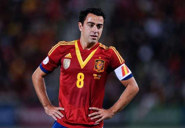 Spain axes Xavi and Pique