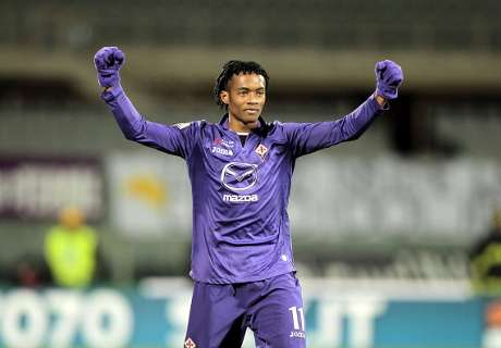 Fiorentina want €50m for Cuadrado