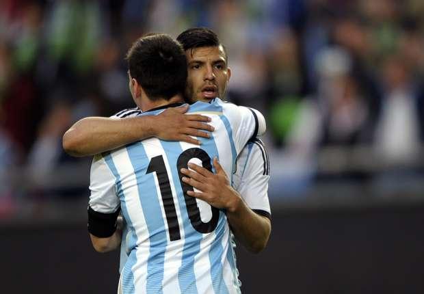 Aguero: Messi's Bosnia goal was awesome
