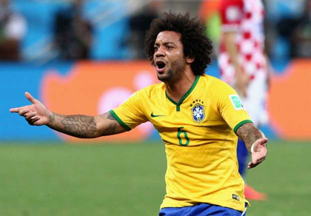 Marcelo: Brazil should have had a penalty