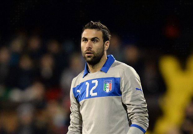 Meet Salvatore Sirigu - the Italy goalkeeper charged with replacing Buffon and stopping Rooney